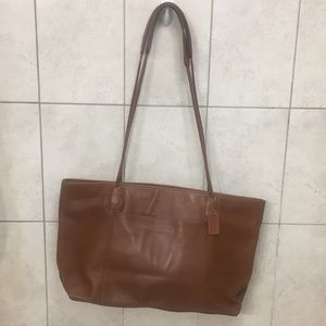Coach over the shoulder large tote
